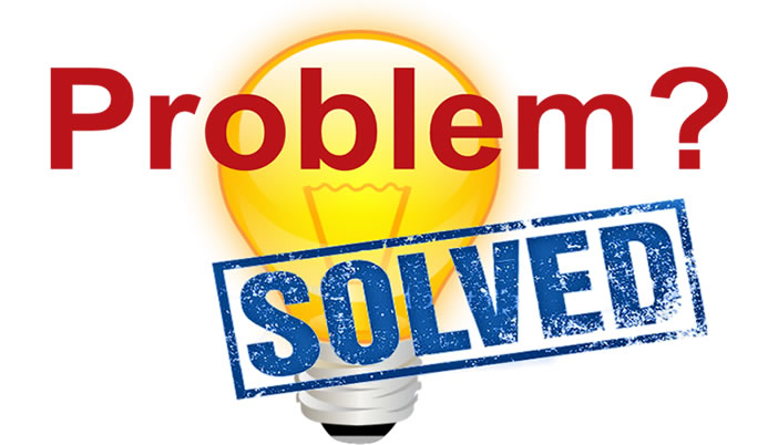 Problem Solved graphic